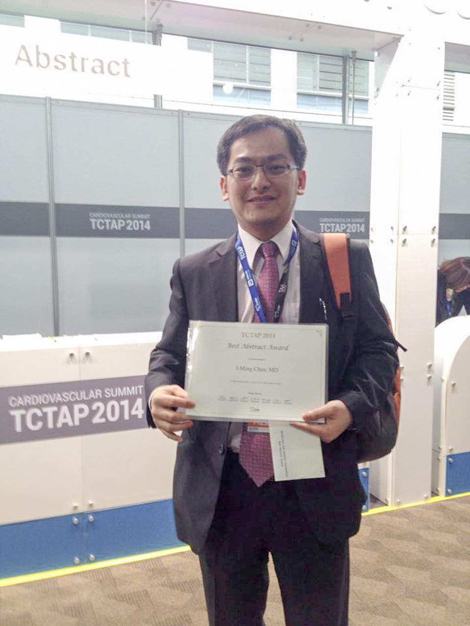 TCTAP2014_I-Ming_Chen_Best_Presenter_01